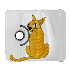 Yellow cat Galaxy S3 (Flip/Folio)