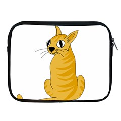 Yellow cat Apple iPad 2/3/4 Zipper Cases