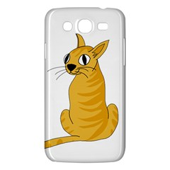 Yellow cat Samsung Galaxy Mega 5.8 I9152 Hardshell Case