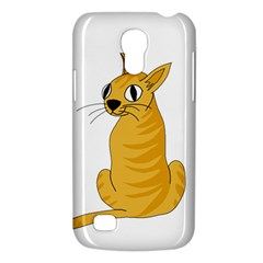Yellow cat Galaxy S4 Mini