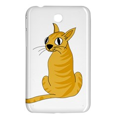 Yellow cat Samsung Galaxy Tab 3 (7 ) P3200 Hardshell Case