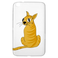 Yellow cat Samsung Galaxy Tab 3 (8 ) T3100 Hardshell Case