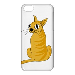 Yellow cat Apple iPhone 5C Hardshell Case