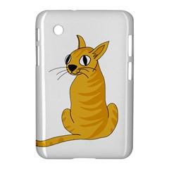 Yellow cat Samsung Galaxy Tab 2 (7 ) P3100 Hardshell Case