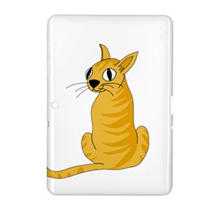 Yellow cat Samsung Galaxy Tab 2 (10.1 ) P5100 Hardshell Case