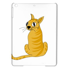 Yellow cat iPad Air Hardshell Cases