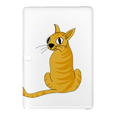 Yellow cat Samsung Galaxy Tab Pro 10.1 Hardshell Case