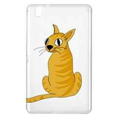 Yellow cat Samsung Galaxy Tab Pro 8.4 Hardshell Case