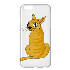Yellow cat Apple iPhone 6 Plus/6S Plus Hardshell Case
