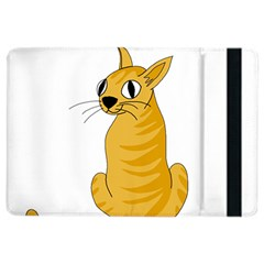 Yellow cat iPad Air 2 Flip