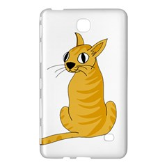 Yellow cat Samsung Galaxy Tab 4 (8 ) Hardshell Case