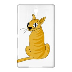 Yellow cat Samsung Galaxy Tab S (8.4 ) Hardshell Case