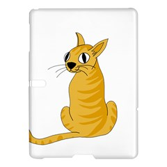 Yellow cat Samsung Galaxy Tab S (10.5 ) Hardshell Case