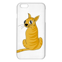 Yellow cat iPhone 6 Plus/6S Plus TPU Case