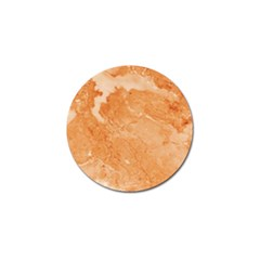 Rose Gold Marble Stone Print Golf Ball Marker (4 Pack)