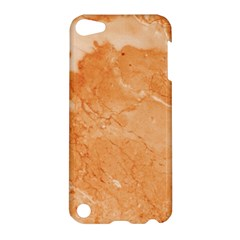 Rose Gold Marble Stone Print Apple Ipod Touch 5 Hardshell Case by Dushan