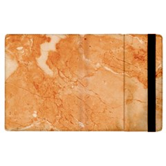 Rose Gold Marble Stone Print Apple Ipad 3/4 Flip Case by Dushan