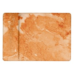 Rose Gold Marble Stone Print Samsung Galaxy Tab 10 1  P7500 Flip Case by Dushan