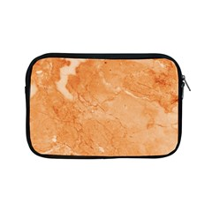Rose Gold Marble Stone Print Apple Ipad Mini Zipper Cases by Dushan