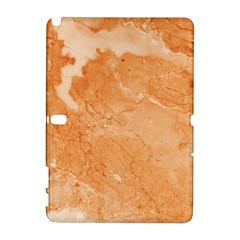 Rose Gold Marble Stone Print Galaxy Note 1 by Dushan