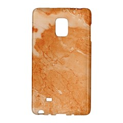 Rose Gold Marble Stone Print Galaxy Note Edge by Dushan