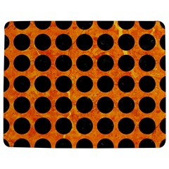 Circles1 Black Marble & Orange Marble (r) Jigsaw Puzzle Photo Stand (rectangular)