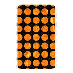 Circles1 Black Marble & Orange Marble Memory Card Reader (rectangular) by trendistuff