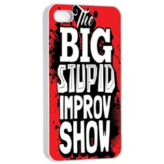 Big Stupid Profile Apple Iphone 4/4s Seamless Case (white)