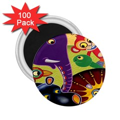 Animals 2 25  Magnets (100 Pack)