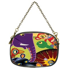 Animals Chain Purses (one Side)