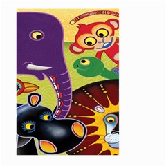 Animals Large Garden Flag (two Sides) by AnjaniArt