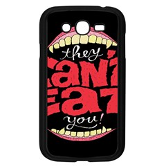 Cant Eat Samsung Galaxy Grand Duos I9082 Case (black) by AnjaniArt