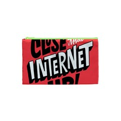 Closethe Internet Up Cosmetic Bag (xs)
