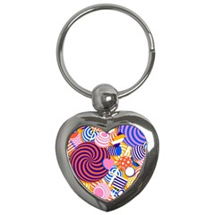 Canddy Color Key Chains (heart)