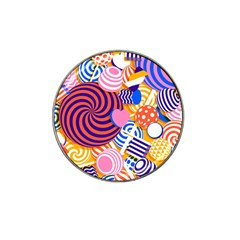 Canddy Color Hat Clip Ball Marker by AnjaniArt