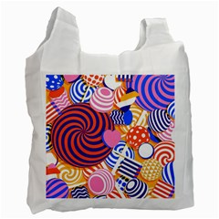 Canddy Color Recycle Bag (two Side)  by AnjaniArt