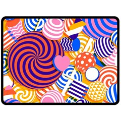 Canddy Color Fleece Blanket (large)