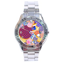 Canddy Color Stainless Steel Analogue Watch