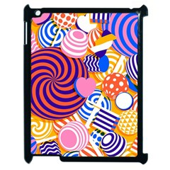 Canddy Color Apple Ipad 2 Case (black)