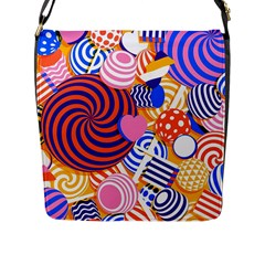 Canddy Color Flap Messenger Bag (l)  by AnjaniArt