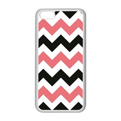 Chevron Crazy On Pinterest Blue Color Apple Iphone 5c Seamless Case (white)