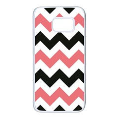 Chevron Crazy On Pinterest Blue Color Samsung Galaxy S7 White Seamless Case