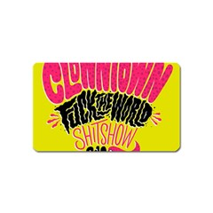 Clowntown Magnet (name Card)