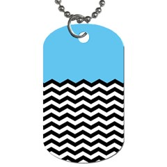 Color Block Jpeg Dog Tag (one Side) by AnjaniArt