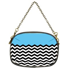 Color Block Jpeg Chain Purses (one Side)  by AnjaniArt