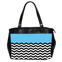Color Block Jpeg Office Handbags (2 Sides)