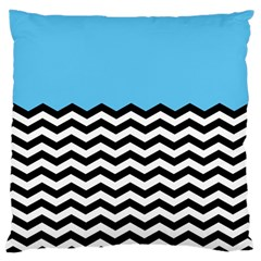 Color Block Jpeg Large Cushion Case (two Sides) by AnjaniArt