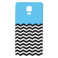 Color Block Jpeg Galaxy Note 4 Back Case by AnjaniArt