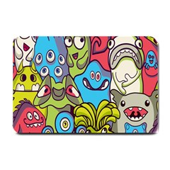 Colourful Monster Flooring Small Doormat  by AnjaniArt