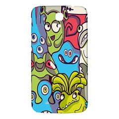 Colourful Monster Flooring Samsung Galaxy Mega I9200 Hardshell Back Case